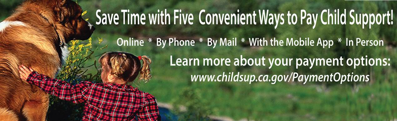 Save time with five convenient ways to pay child support