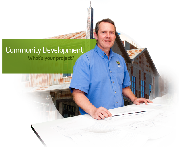 Community Development. What's your project?