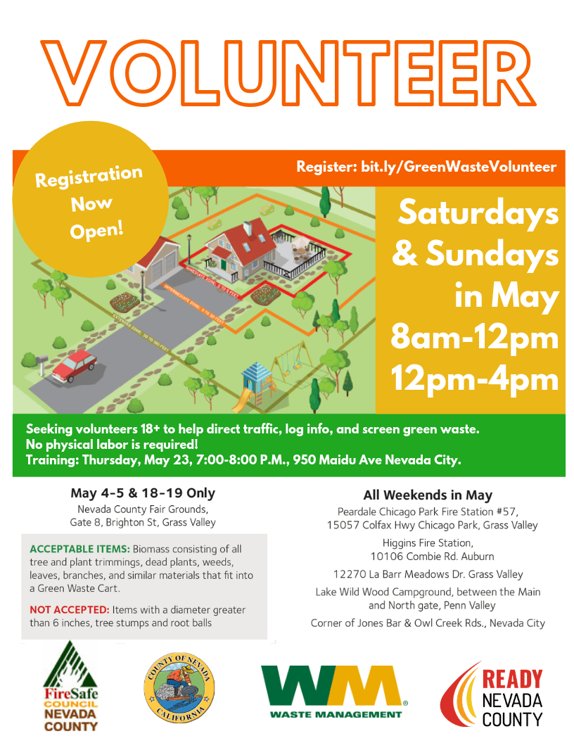 Flyer for Volunteer Training May 23
